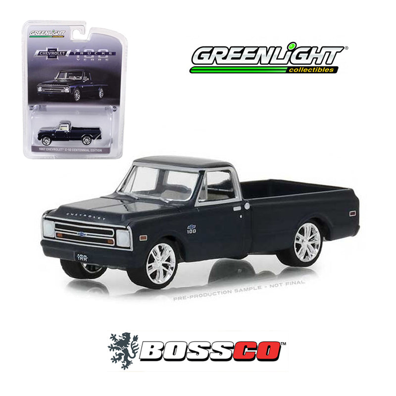 "GREENLIGHT - 1967 CHEVROLET C10 ""CENTENNIAL"" (BLUE)"