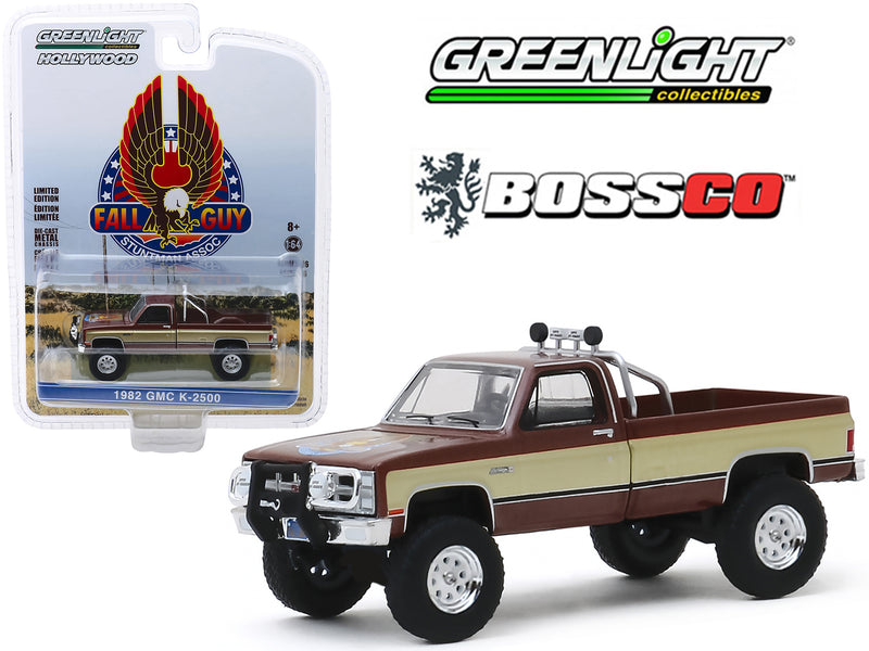 "GREENLIGHT - 1982 GMC K 2500 TRUCK ""FALL GUY"""