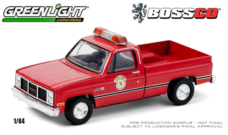 GREENLIGHT - 1987 GMC HIGH SIERRA (IL PUBLIC WORKS)