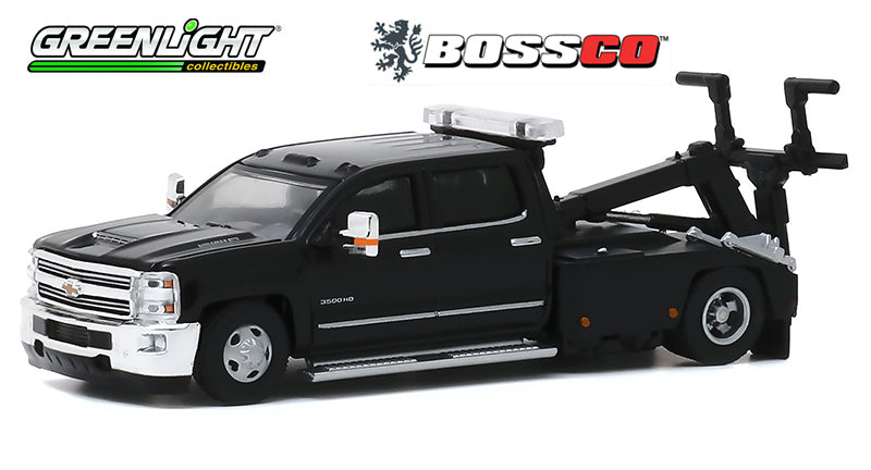 GREENLIGHT - 2018 CHEVROLET SILVERADO 3500 WRECKER ***PRE ORDER***