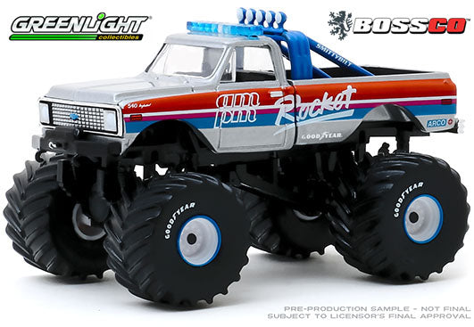 "GREENLIGHT - 1972 CHEVROLET K-10 MONSTER TRUCK ""ROCKET""  PRE-ORDER"