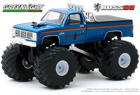 "GREENLIGHT - 1985 GMC HIGH SIERRA 2500 ""BEAR FOOT""  PRE-ORDER"