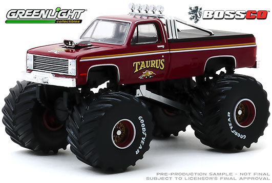"GREENLIGHT - 1986 CHEVROLET K20 ""TAURUS"""