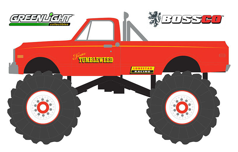 "GREENLIGHT - 1972 CHEVROLET C-10 ""TEXAS TUMBLEWEED"" ***PRE ORDER***"