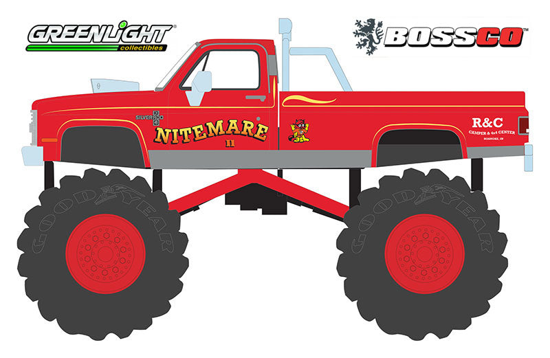 "GREENLIGHT - 1986 CHEVY SILVERADO ""NITEMARE II"""