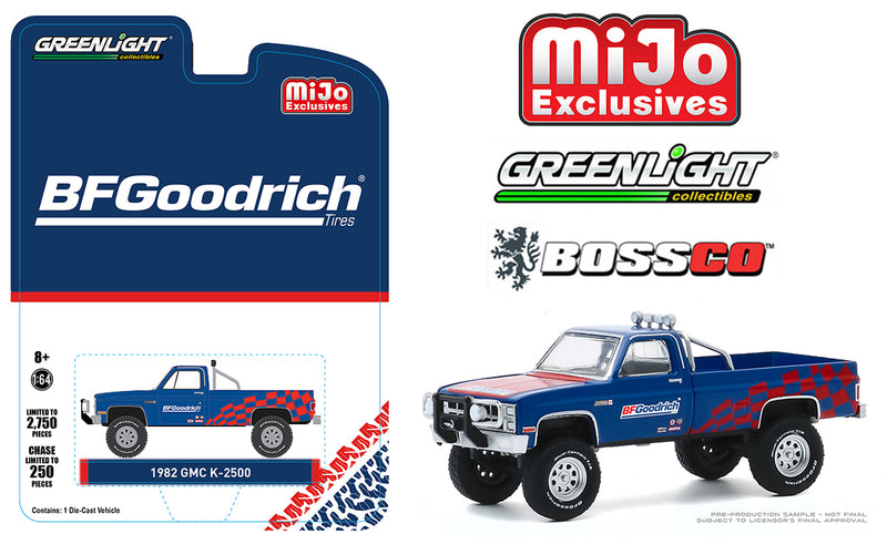 "GREENLIGHT - 1982 GMC K 2500 TRUCK ""BF GOODRICH"""