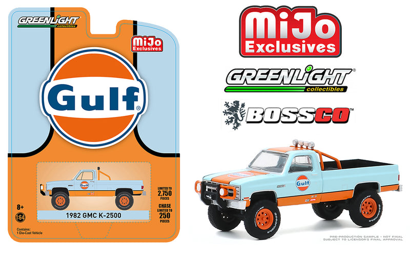 "GREENLIGHT - 1982 GMC K 2500 TRUCK ""GULF"""