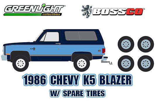 GREENLIGHT - 1986 CHEVROLET K5 BLAZER  PRE-ORDER