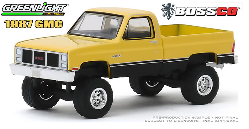 GREENLIGHT - 1987 GMC HIGH SIERRA ***PRE ORDER***