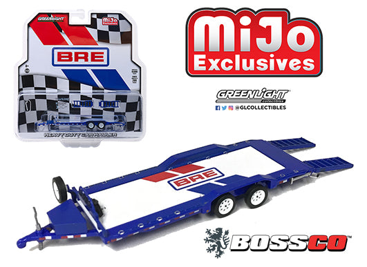 GREENLIGHT - BRE BROCK RACING CAR HAULER