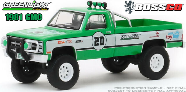 "GREENLIGHT - 1981 GMC K-2500 ""TOY FAIR"""