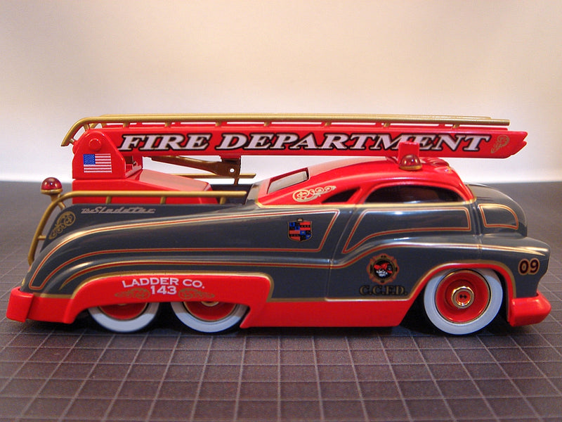 "SLEDSTER II - FIRE ENGINE LADDER TRUCK CHASE ""GREY"""