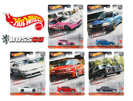 "HOT WHEELS - ""MODERN CLASSIC"" (SET of 5) *** PRE ORDER ***"