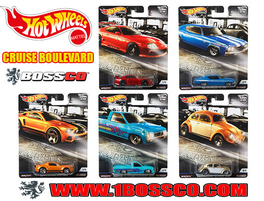 "HOT WHEELS - CAR CULTURE ""CRUISE BOULEVARD"" (SET of 5)"