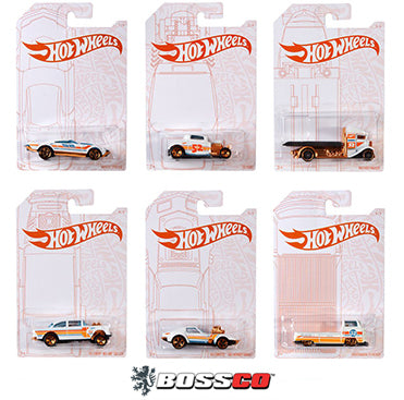 HOT WHEELS - PEARL & CHROME (SET of 6)