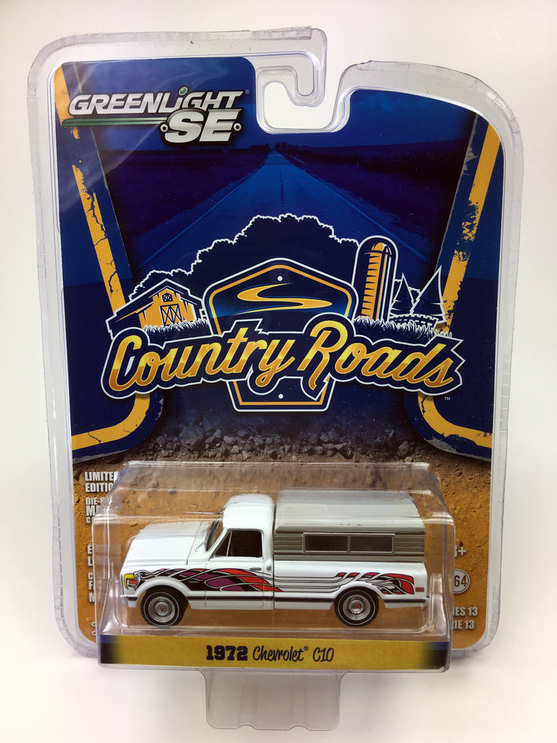 "GREENLIGHT - 1972 CHEVROLET C10 ""WHITE"""