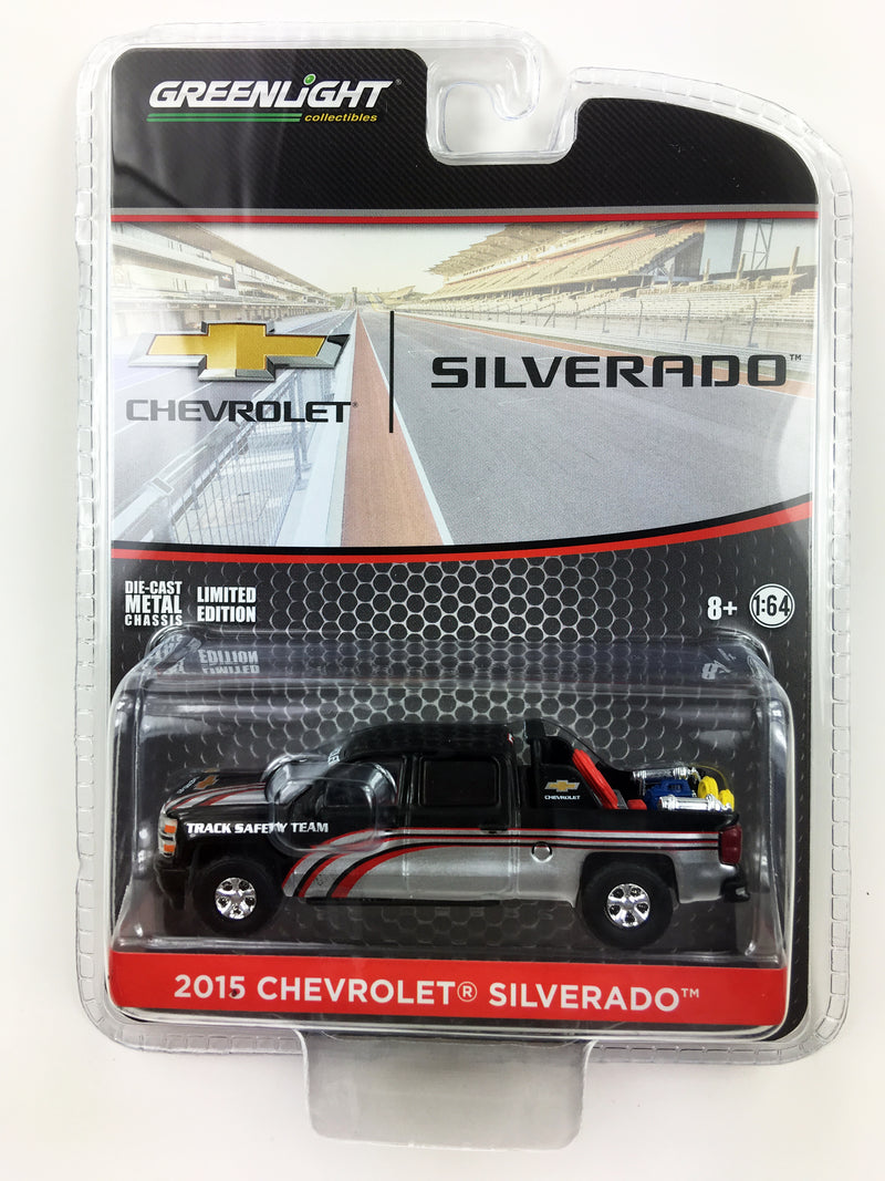"GREENLIGHT - 2015 CHEVROLET SILVERADO TRACK SAFETY TEAM ""BLACK"""