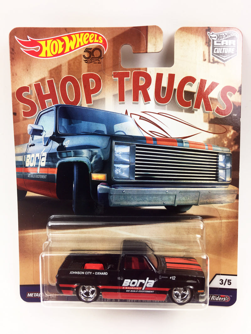 HOT WHEELS - SHOP TRUCKS CUSTOM '83 CHEVY SILVERADO