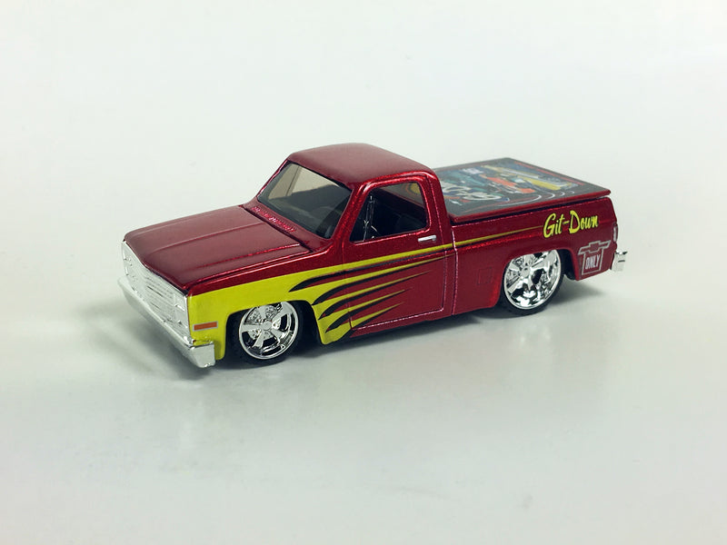 "MAISTO - COMMEMORATIVE DINO'S GIT DOWN 87 CHEVY ""1 OF 100"""