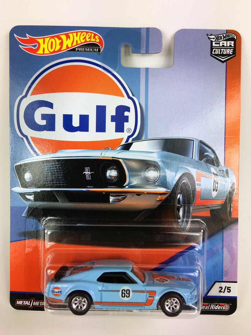 HOT WHEELS -  GULF SERIES '69 FORD MUSTANG BOSS 302