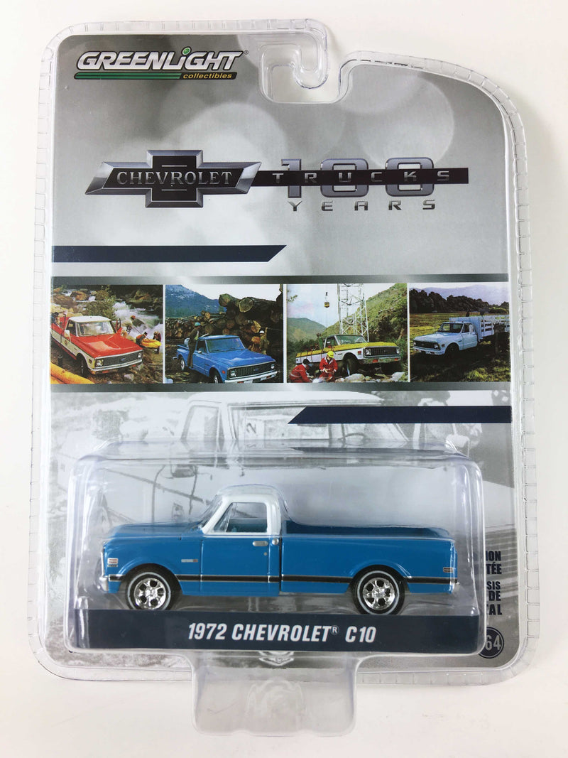 "GREENLIGHT - 1972 CHEVROLET C10 ""100 YEARS"""