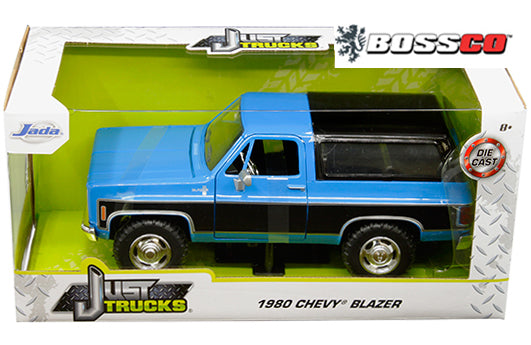"JADA TOYS - 1/24 1980 CHEVY BLAZER K5 ""BLUE & BLACK"""