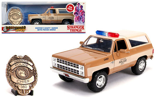 JADA TOYS - 1/24 HOPPER'S CHEVY BLAZER STRANGER THINGS