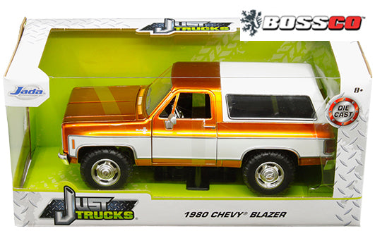 "JADA TOYS - 1/24 1980 CHEVY BLAZER K5 ""COPPER & WHITE"""