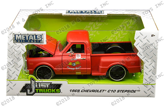 "JADA TOYS - 1/24 1969 CHEVROLET C10 ""FLAT RED"""