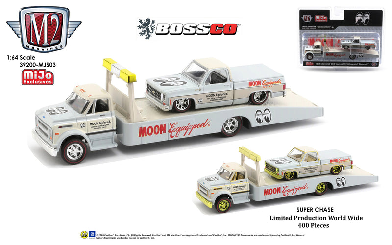 "M2 CHEVY C60 TRUCK & '78 SILVERADO ""MOON EQUIPPED""  ***PRE ORDER***"