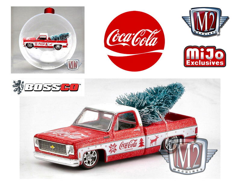 "M2 '73 CHEVY COCA-COLA ""ORNAMENT"""
