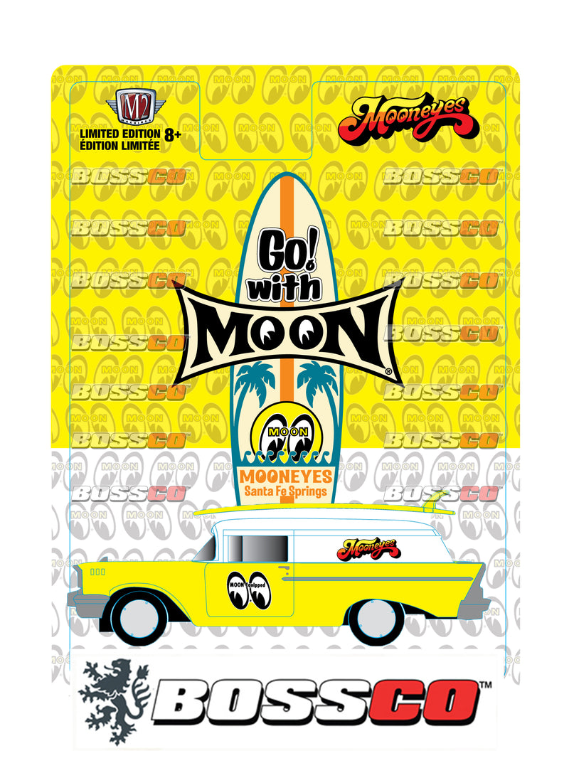 "M2 1957 CHEVY SEDAN DELIVERY ""MOONEYES"" *** PRE ORDER ***"