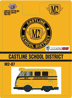 "M2 1960 VW DELIVERY VAN ""SCHOOL BUS"" ***PRE ORDER"
