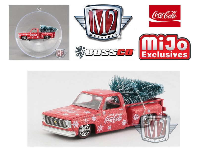"M2 '74 CHEVY STEPSIDE COCA-COLA ""ORNAMENT"""