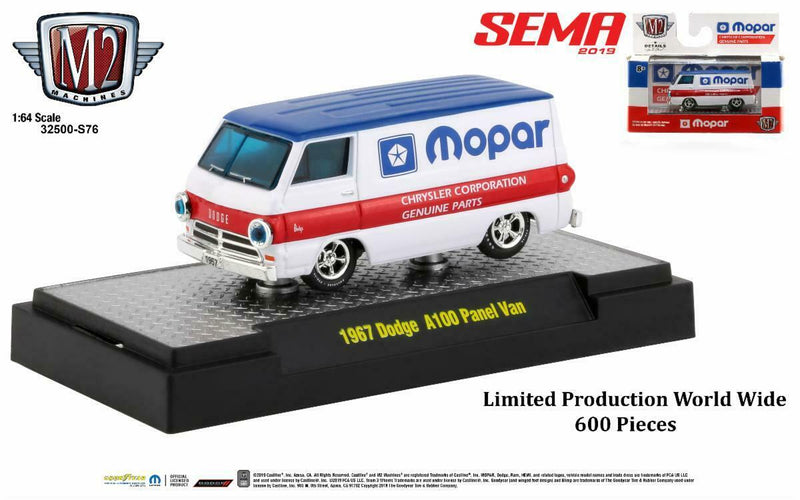 "M2 '67 DODGE A100 MOPAR PANEL VAN ""SEMA 2019"""