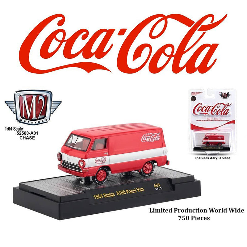 "M2 ""CHASE"" 1964 DODGE A100 PANEL VAN ""COCA-COLA"""