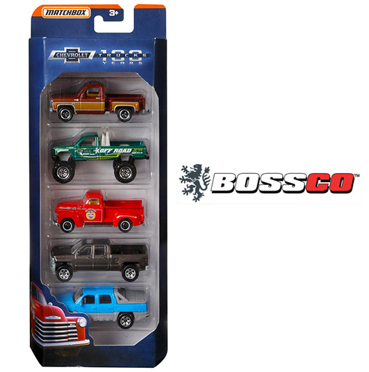 MATCHBOX - GM 100TH ANNIVERSARY  (SET of 5)
