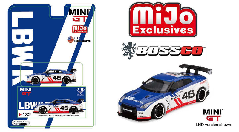 "MINI GT - NISSAN SKYLINE GT-R ""LB WORKS"""