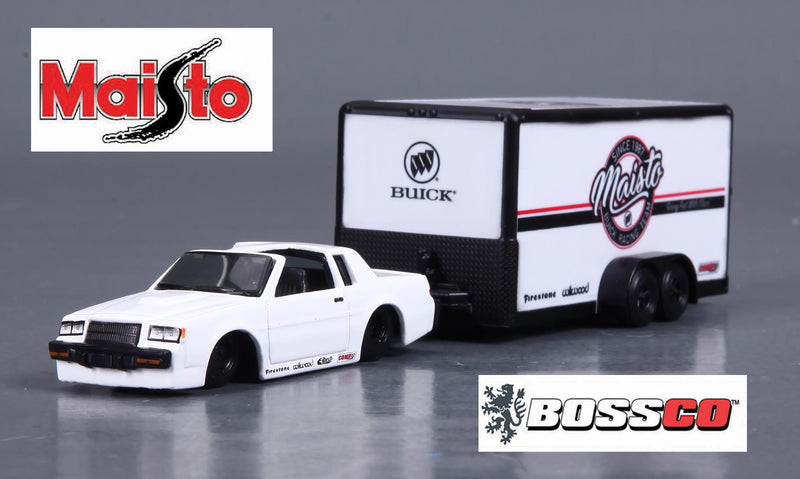 MAISTO - 1987 BUICK REGAL with TRAILER