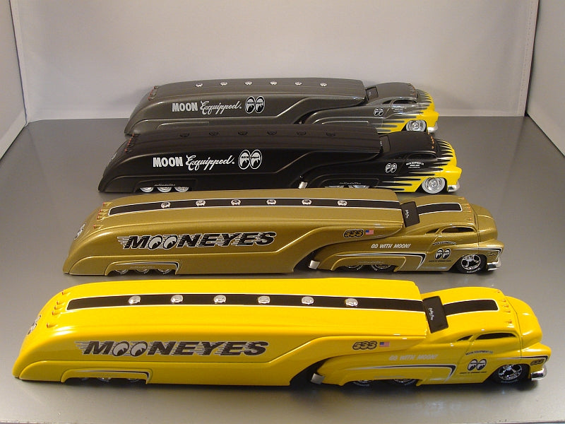 SLEDSTER - TANKER 4 PC SET MOONEYES