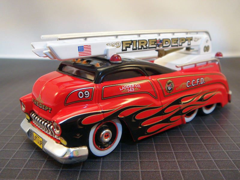 "SLEDSTER II - FIRE ENGINE LADDER TRUCK ""RED"""