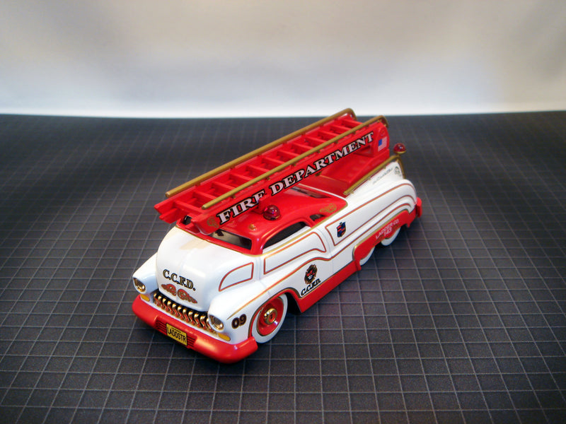 "SLEDSTER II - FIRE ENGINE LADDER TRUCK ""WHITE"""