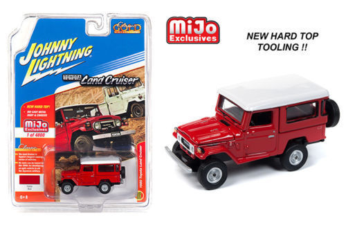 "JOHNNY LIGHTNING - 1980 TOYOTA LAND CRUISER ""RED"""