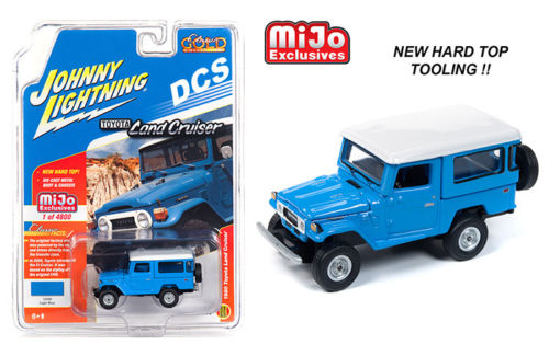 "JOHNNY LIGHTNING - 1980 TOYOTA LAND CRUISER ""LIGHT BLUE"""