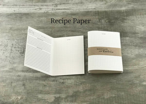 Paper Refill for Your Refillable Leather Journal