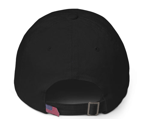 Black & Flamingo 'Spread Warmth' Cotton Cap