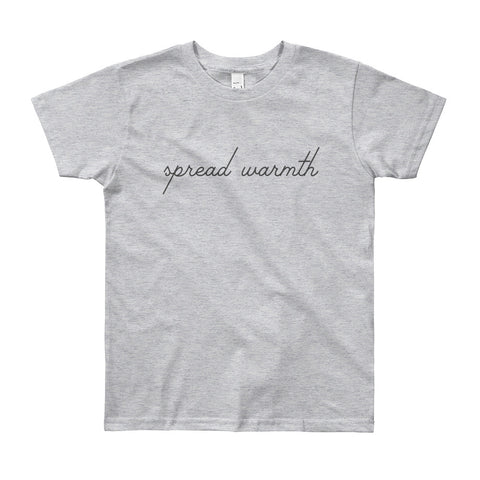 Youth 'Spread Warmth' Short Sleeve T-Shirt