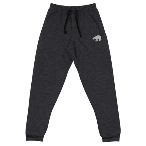 Embroidered Polar Bear Joggers