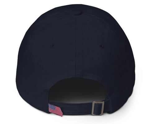 Navy 'Spread Warmth' Cotton Cap