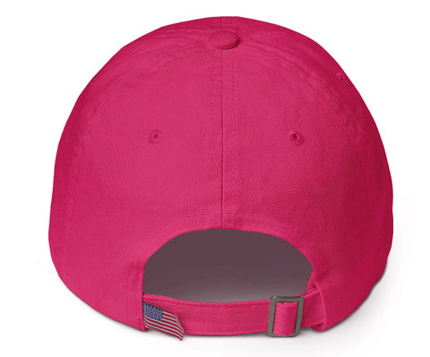 Flamingo & White 'Spread Warmth' Cotton Cap